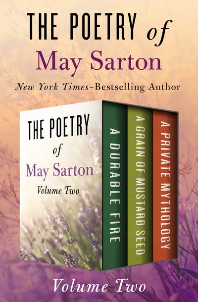 Buy The Poetry of May Sarton Volume Two at Amazon