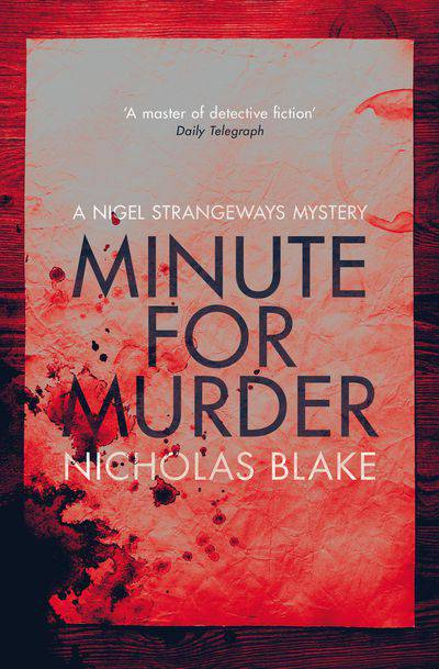 Buy Minute for Murder at Amazon