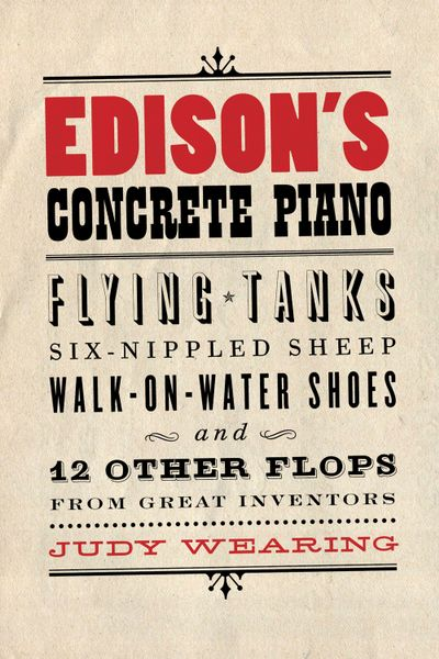 Buy Edison's Concrete Piano at Amazon