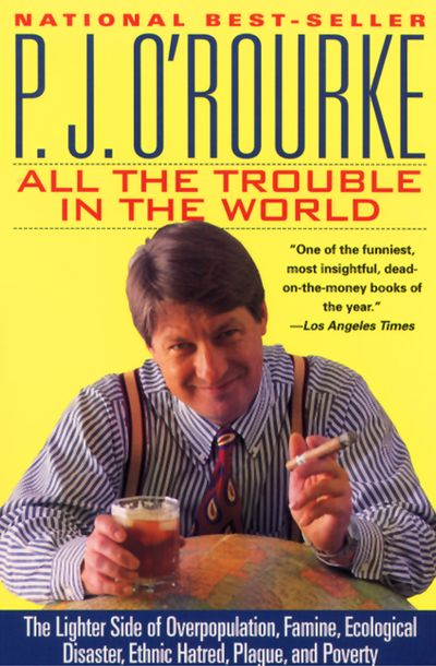 Buy All the Trouble in the World at Amazon