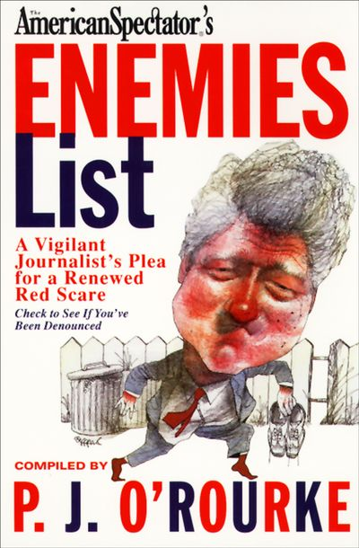 Buy The American Spectator's Enemies List at Amazon