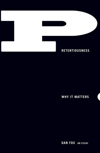 Buy Pretentiousness at Amazon