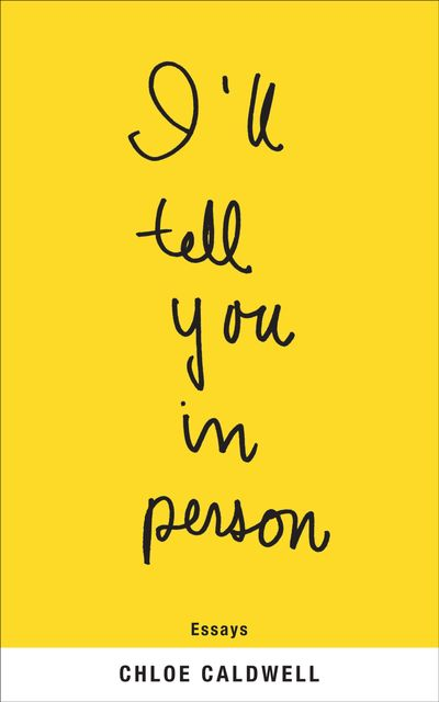 Buy I'll Tell You in Person at Amazon