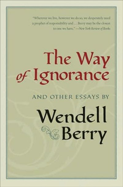 Buy The Way of Ignorance at Amazon