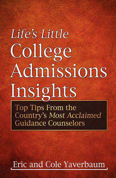 Buy Life's Little College Admissions Insights at Amazon