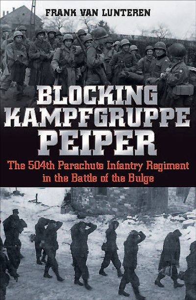 Buy Blocking Kampfgruppe Peiper at Amazon