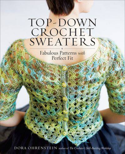 Buy Top-Down Crochet Sweaters at Amazon