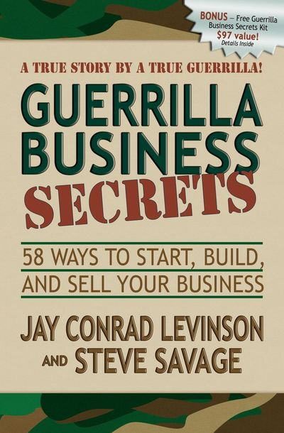 Buy Guerrilla Business Secrets at Amazon