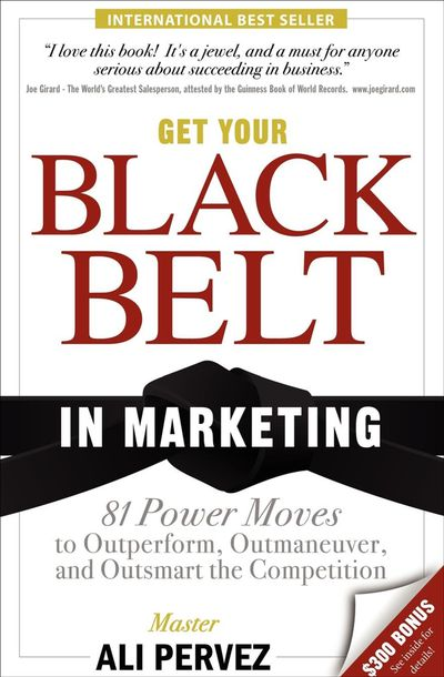 Buy Get Your Black Belt in Marketing at Amazon
