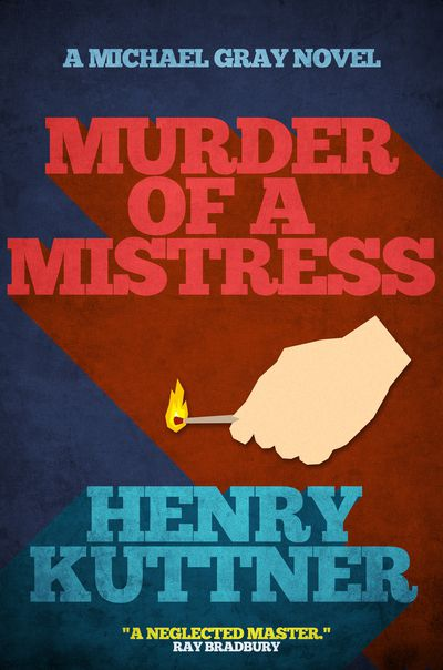 Buy Murder of a Mistress at Amazon