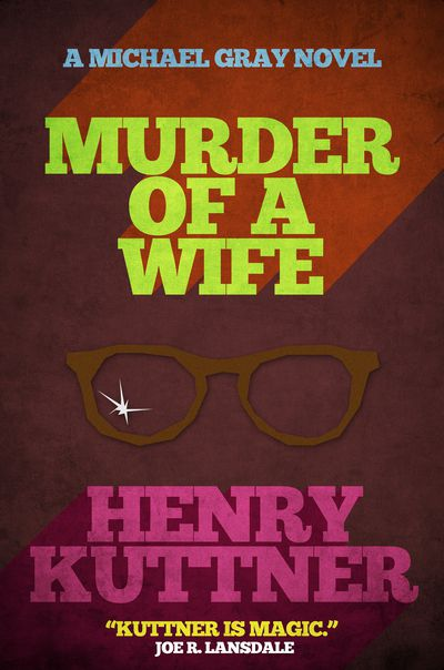 Buy Murder of a Wife at Amazon