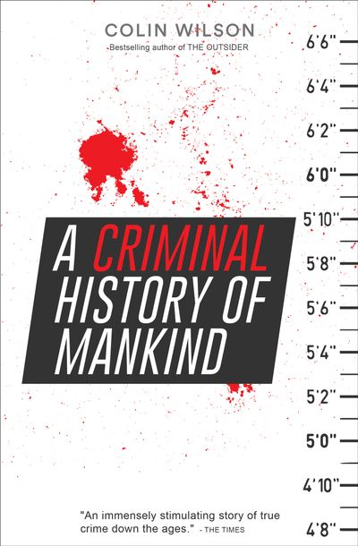 Buy A Criminal History of Mankind at Amazon