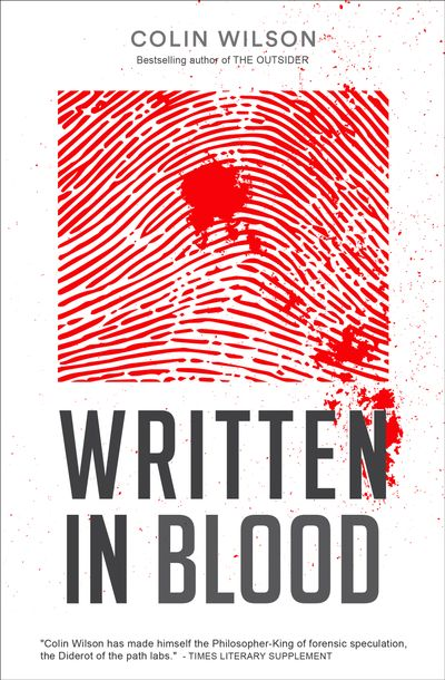 Buy Written in Blood at Amazon