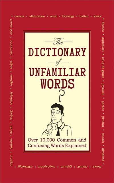 Buy The Dictionary of Unfamiliar Words at Amazon