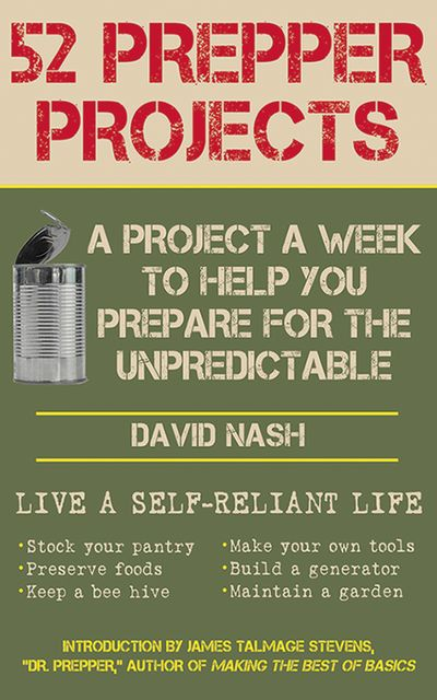 Buy 52 Prepper Projects at Amazon