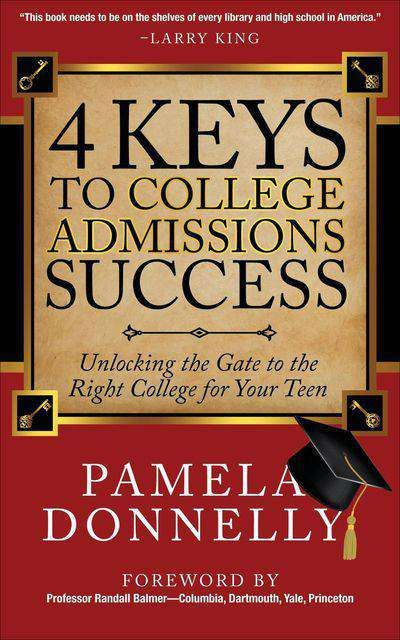 Buy 4 Keys to College Admissions Success at Amazon