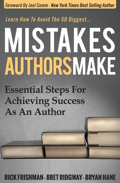 Mistakes Authors Make