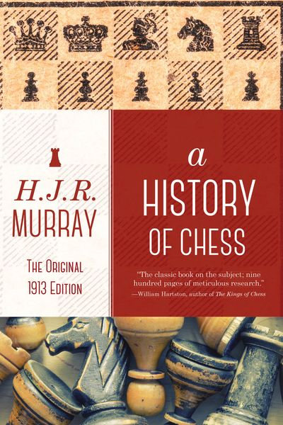 Buy A History of Chess at Amazon