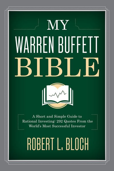 Buy My Warren Buffett Bible at Amazon