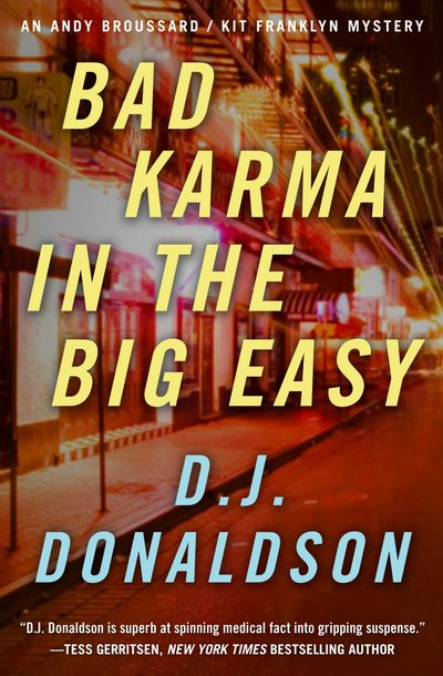 Buy Bad Karma in the Big Easy at Amazon