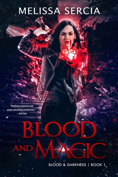 Buy Blood and Magic at Amazon