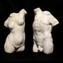 Female & Male Twisted Torso