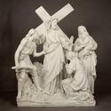 Jesus Speaks to the Woman Stat