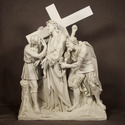 Jesus Is Given The Cross Stati