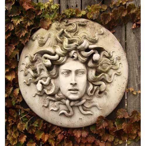 Medusa Wall Plaque 18 - Orlandi Statuary - Online Wholesale