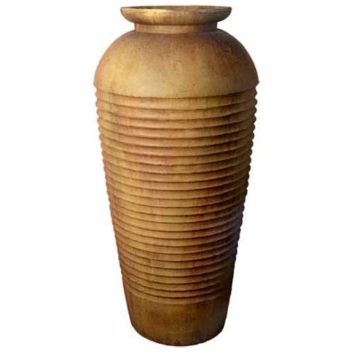 Floor Ribbed Urn (Five Foot)
