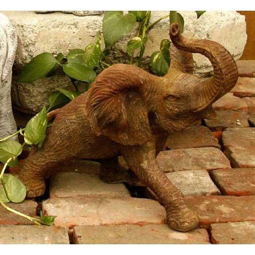"""Wild Elephant 14""""W"""