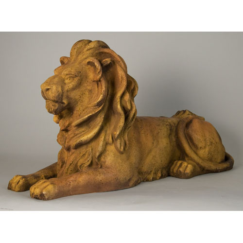 Lion Sitting W Pride 21