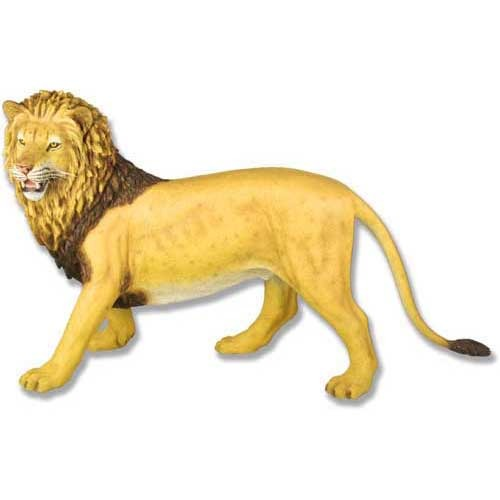 Stalking Lion-Full Color