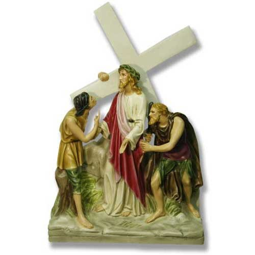 Jesus Is Given The Cross Station # 2