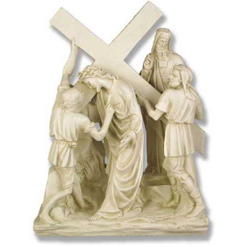 Jesus & Simon The Cyrene  Station # 5