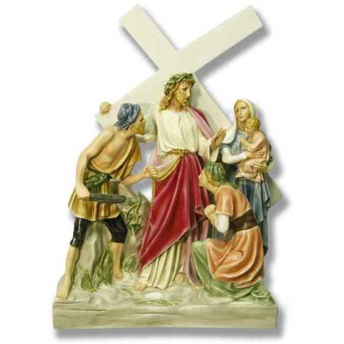 Jesus Meets Women/Jerusalem Station # 8