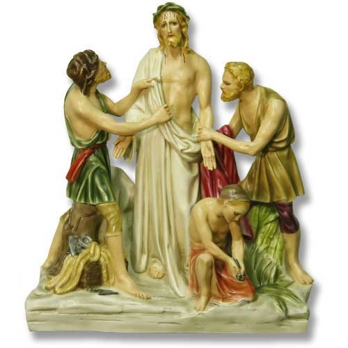 Jesus Is Stripped Station  # 10