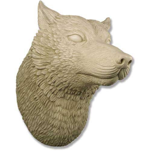 Wolf Head Display 50