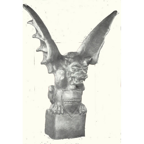 Gargoyle Of Lyon-Giant 48  H