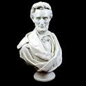Lincoln Bust Draped Beard 34