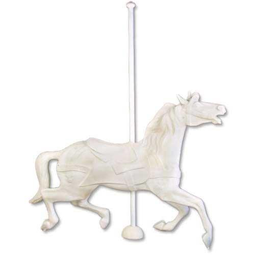 Flying Carousel Horse (NO BASE)