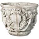 Cherub Bell Pot 14 H