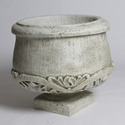 Round Pot Under Ornate 20