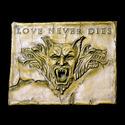 Love Never Dies Plaque