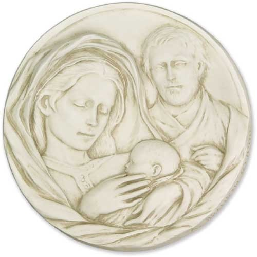 Holy Family Plaque 10