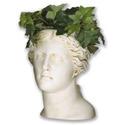 Venus Head Planter 13.5 H