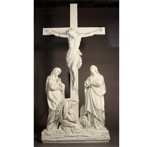 Jesus Is Crucified w/ cross Station 12