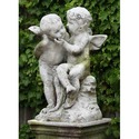 Two Cherubs Playing 21 H