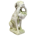 Dog With Flower Basket 24