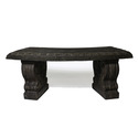 Curved Short Bench 17 H 42 W